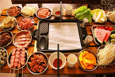 韩国纸上烤肉培训